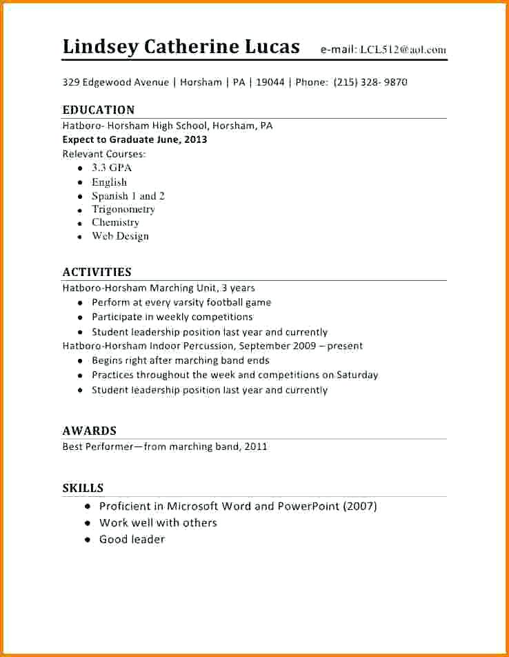 Writing a cv for academic positions first